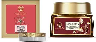 Forest Essentials Intensive Eye Cream with Anise, 15g & Forest Essentials Soundarya Radiance Cream With 24K Gold & SPF25 (...