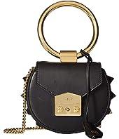 Salar - Jie Ring Handle Spiked Mini Bag