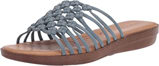 Easy Street womens Sandal,Denim,10 W US