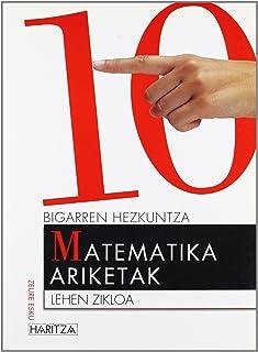 Matematika ariketak 10 (Zeure Esku) - 9788466719889