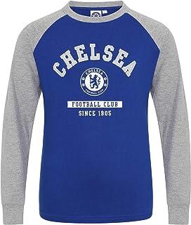 Camiseta oficial con mangas raglán - Para niños - Con el escudo del club