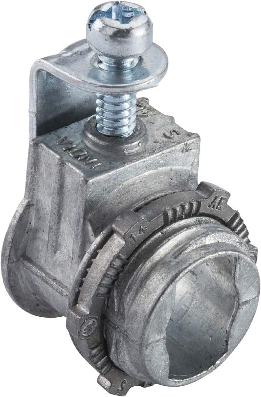 Halex 3 8 In Flexible Metal Conduit Fmc Saddle Connectors 20670 5 Per Pack Conduit Fittings Amazon Com