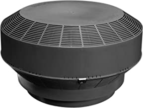 Duraflo 6001BL Replacement Retrofit Type B Roof Vent Turbine, Black