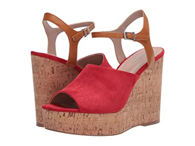Charles by Charles David Dory (Hot Red/Camel) Women