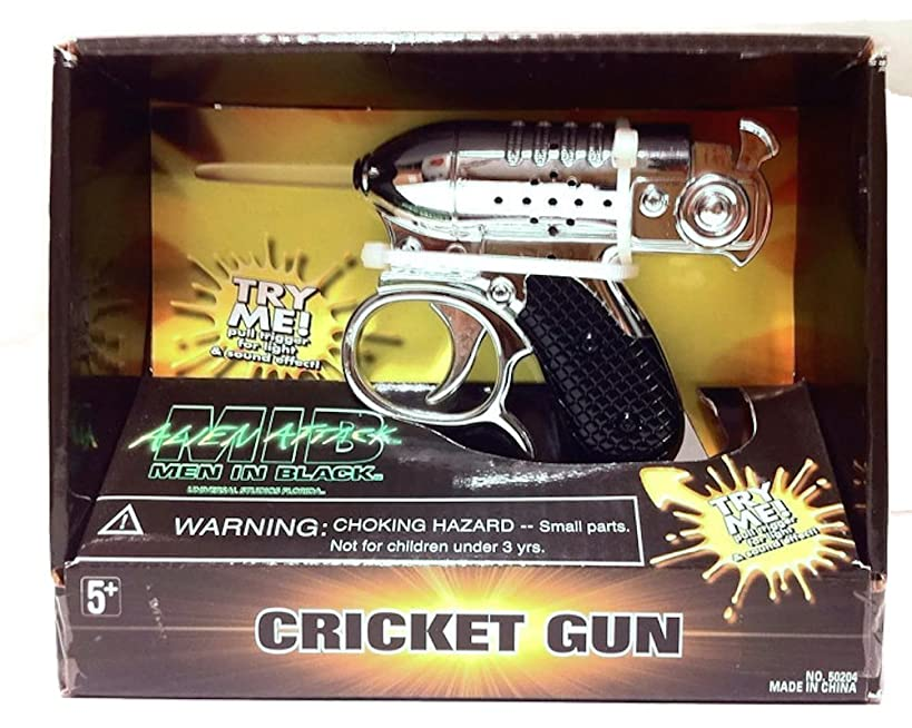 Men In Black Alien Attack : Noisy Cricket Toy Movie Replica with Sound & Light Effects