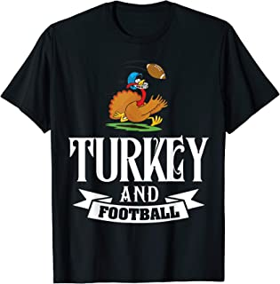 Funny Thanksgiving Turkey Football Shirt Gifts 2017 Outfit