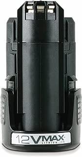 Dremel B812-03 2.0Ah 12V Max Lithium-Ion Battery for 8200, 8220 and 8300 Cordless Tools, Black
