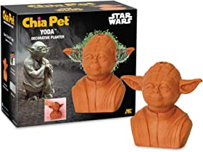 Chia Pet Star Wars Yoda with Seed Pack, Decorative Pottery Planter, Easy to Do and Fun to Grow, Novelty Gift, Perfect for ...
