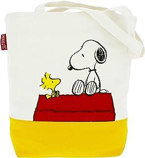 Peanuts Classic Bolsa de tela y de playa 36 centimeters Blanco (White)