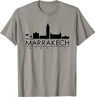 The World Marrakech Morocco Shirt, Moroccan Mens Women Tee  T-Shirt