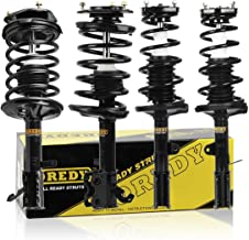 OREDY Set of 4pcs Complete Struts Assembly Coil Springs Mount Shock Struts Compatible with Toyota Corolla 1993 1994 1995 1996 1997 1998 1999 2000 2001 2002/ Chevrolet Prizm 1998 1999 2000 2001 2002