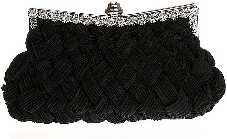 Belsen Women's Wedding Knit Style Evening Clutch Bags