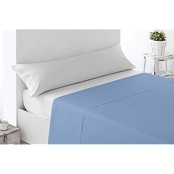 Miracle Home Sábana Encimera Ajustable, algodón 50% poliéster, Celeste, 90 cm: Amazon.es: Hogar