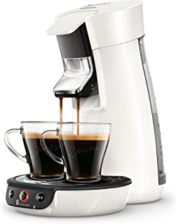 Senseo HD6563/00 Viva Cafe - Cafetera monodosis, 1450 W, 0.9 litros, Blanco