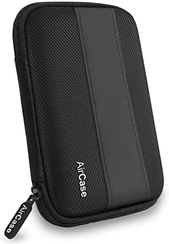 AirCase External Hard Drive Case for 2.5-Inch Hard Drive (Black)