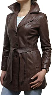 Womens Leather Jacket Genuine Sheepskin Blazer