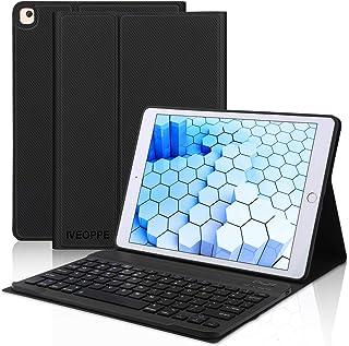 جراب iPad 10.2 الجيل السابع 2019 للوحة المفاتيح، لجهاز iPad 10.2 (2019 الجيل السابع)/10.5 2017/Air 3، لوحة مفاتيح IVEOPPE ...