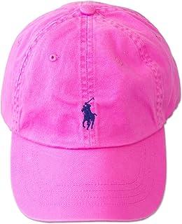 (ポロ ラルフローレン)POLO Ralph Lauren キャップ CAP 帽子 メンズ レディース PONY ポニー ワンポイント[並行輸入品] ピンク×ネイビー -