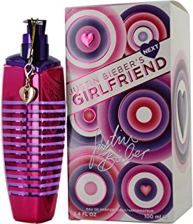 Justin Bieber Next Girlfriend Eau de Parfum Spray for Women, 3.4 Ounce