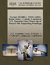 Younger (Evelle) v. Harris (John); Boyle (John) v. Landry (Lawrence) U.S. Supreme Court Transcript of Record with Supporting Pleadings
