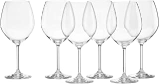 Lenox Tuscany Classics Red Wine Glasses, Buy 4, Get 6, 24 ounces - 887609