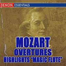 Mozart Opera Overtures & Variations From