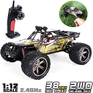GPTOYS 1:12 Remote Control Off Road Truck Hobby Grade Army Green Monster Crawler S916
