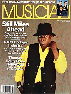 Musician Magazine, May 1989 - Miles Davis front cover