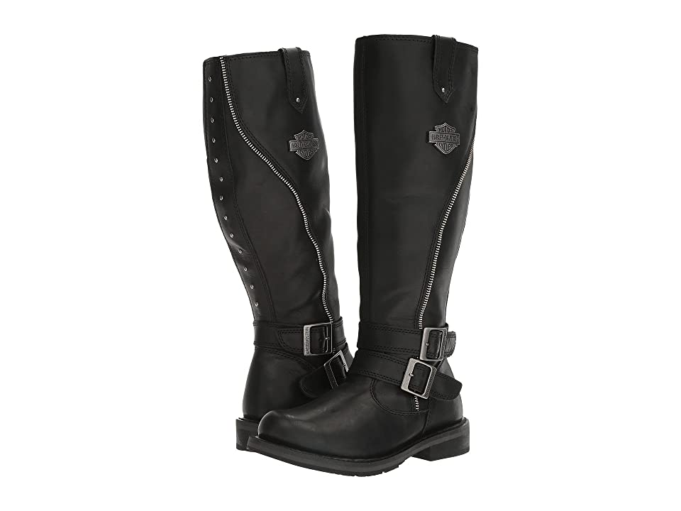 809d3f990a8b Harley-Davidson Sennett (Black) Women s Boots