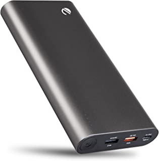 eeco USB-C Portable Charger 20800mAh with Quick Charge 3.0, High Capacity Type C External Battery Charger Pack for Galaxy S8, MacBook, iPhone, Nexus, Pixel, LG, Nintendo Switch and More