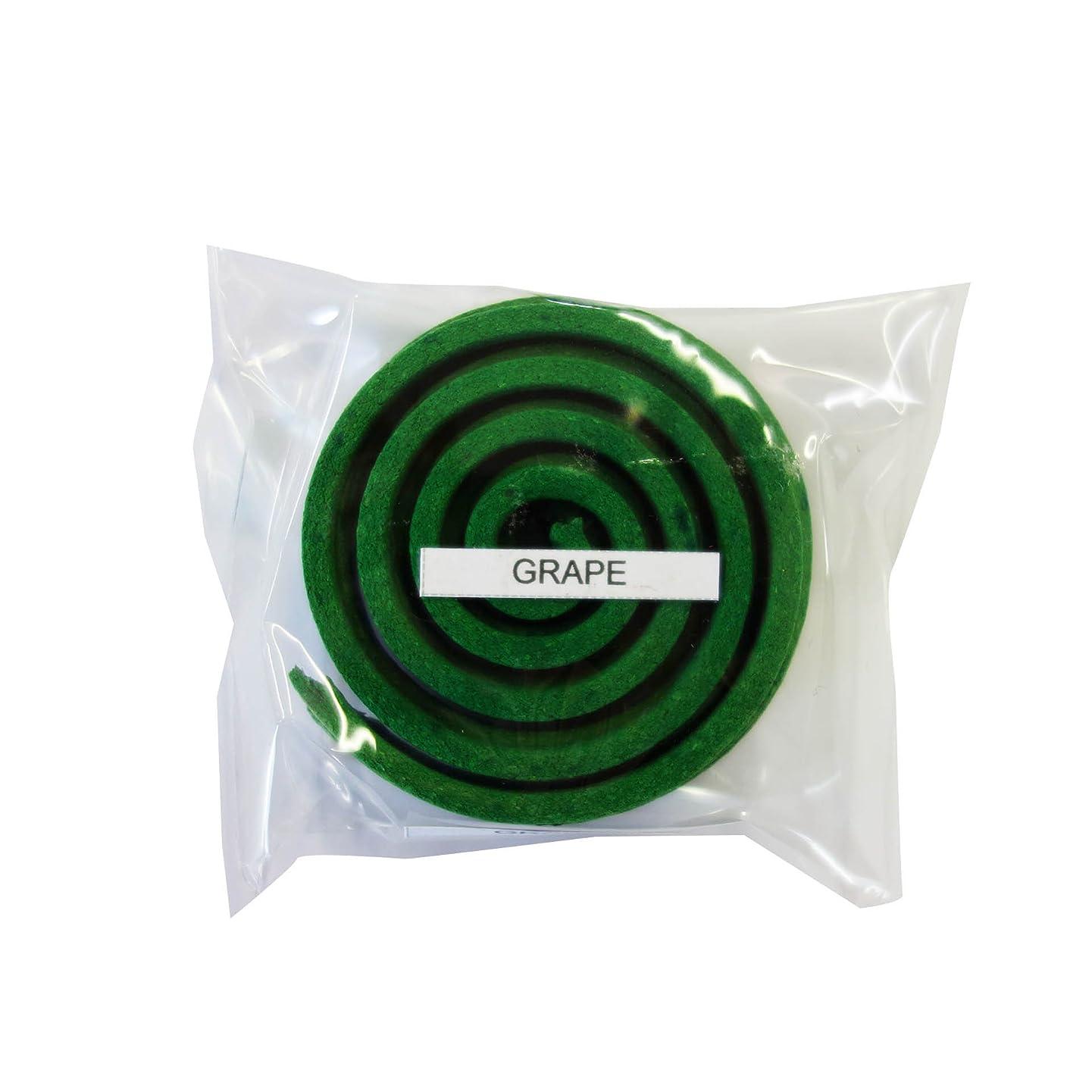 手荷物によって勃起お香/うずまき香 GRAPE グレープ 直径5cm×5巻セット [並行輸入品]