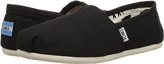 TOMS Womens 001001B07-NVY Classics Black Size: 5