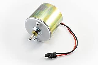 Low Amp 6 Volt 1/4'' Shaft Feeder Motor
