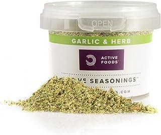BULK POWDERS Active Seasonings, Garlic and Herb, 50 g