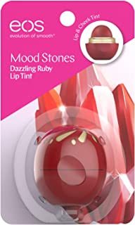 EOS Mood Stones Lip Tint, Dazzling Ruby, 1 Count