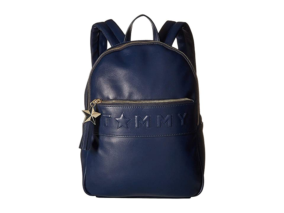Tommy Hilfiger Logo Story Backpack (Tommy Navy) Backpack Bags