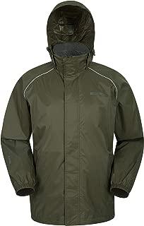 Mountain Warehouse Pakka Mens Waterproof Rain Jacket - Packable