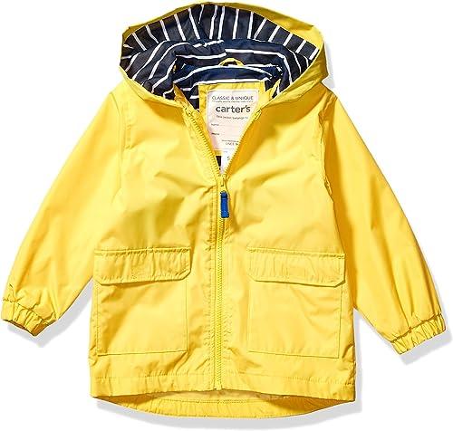 London Fog Boys Navy Dinosaur Rainslicker Jacket Size 2T 3T 4T 4 5//6 7