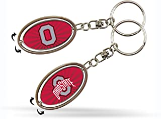NCAA Ohio State Buckeyes Spinner Keychain