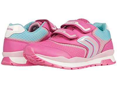 Geox Kids Pavel Girl 3 (Little Kid/Big Kid) (Fuchsia/Pink) Girl