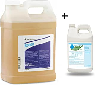 Rodeo Herbicide with Aquatic AB Adjuvant Non-Ionic Activator Penetrant 2.5 Gallon