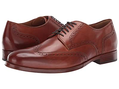 Cole Haan Gramercy Derby Wing Tip Oxford (British Tan) Men
