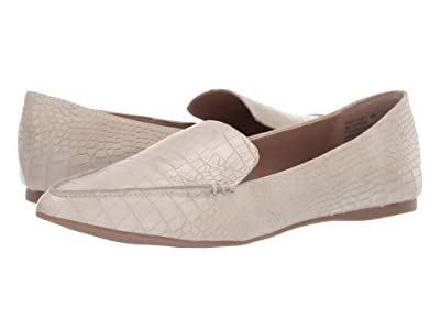 Steve Madden Feather Loafer Flat (Taupe Croco) Women