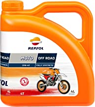 Repsol RP162N54 Moto Off Road 4T 10W-40 Aceite de Motor, 4 L