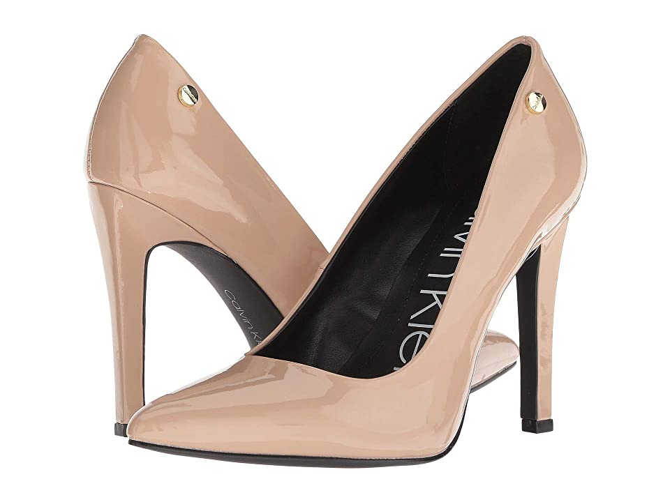 Calvin Klein Brady (Desert Sand Patent) High Heels