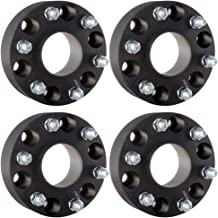 ECCPP Replacement for 6x5.5 Hubcentric Wheel Spacers 6 Lug 4X 2 6x5.5 to 6x5.5| 6x139.7mm to 6x139.7mm 78.1 Hub Bore 14x1.5 Fits Chevy Chevrolet Silverado Tahoe Sierra 1500 Chevrolet Express 1500