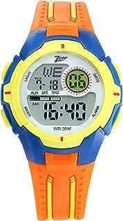 Zoop Digital Grey Dial Boy's Watch-16008PP04