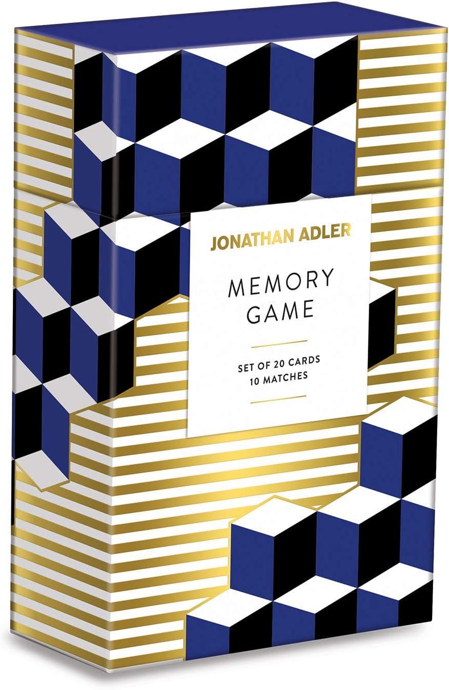 2021 Galison Jonathan Award Adler Versailles Multicolor Memory Game