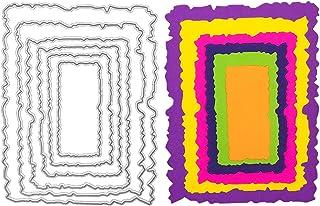 LEZED Troqueles Para Plantilla Rectangulares Forma De Rectángulo Acero Carbono De Troqueles De Corte Troquelado Rectangula...
