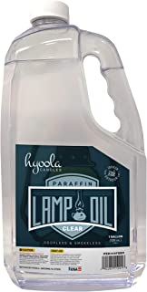 1-Gallon Liquid Paraffin Lamp Oil – Clear Smokeless, Odorless, Ultra Clean Burning..